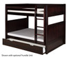 Camaflexi High Bunk Bed Full Size Cappuccino 2 | Camaflexi Furniture | CF-E1622