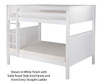 Camaflexi High Bunk Bed Full Size White 3 | 24584 | CF-E1623A