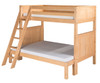 Camaflexi High Bunk Bed Twin over Full Size Natural 2 | Camaflexi Furniture | CF-E1721A