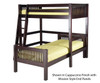 Camaflexi L-Shaped High Loft Bed Twin Size Natural | 24594 | CF-E1811