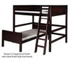 Camaflexi L-Shaped High Loft Bed Full over Twin Size Natural 1 | 24627 | CF-E2121