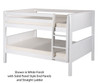 Camaflexi Low Bunk Bed Full Size White | Camaflexi Furniture | CF-E2213A