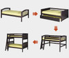 Camaflexi Day Bed with Front Safety Rail White   Camaflexi Furniture   CF-E303