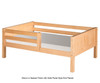 Camaflexi Day Bed with Front Safety Rail White 2 | Camaflexi Furniture | CF-E323