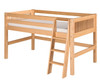 Camaflexi Low Loft Bed Twin Size Natural | Camaflexi Furniture | CF-E411