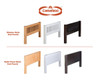 Camaflexi Low Loft Bed Twin Size Cappuccino 1 | Camaflexi Furniture | CF-E412