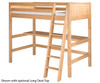Camaflexi High Loft Bed Full Size White 2 | 24723 | CF-E623F