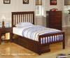 Parker Twin Size Slat Bed   24803   CS400290T