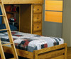 Wrangle Hill Loft Bed with Desk and Storage | 24825 | CS460141