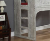 Club House Loft Bed Twin Size   Donco Trading   DT007D