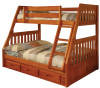 Ridgeline Twin over Full Bunk Bed | Discovery World Furniture | DWF2118-CL