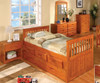 Ridgeline Captains Trundle Bed | Discovery World Furniture | DWF2135TR