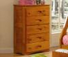 Ridgeline 5 Drawer Chest | Discovery World Furniture | DWF2155