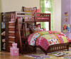 Acadia Twin over Full Loft Bed 1 | Discovery World Furniture | DWF2805-CL
