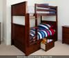 Jackpot Bunk Bed Cherry | Jackpot Kids Furniture | JACKPOT-710100-004