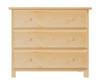 Jackpot 3 Drawer Dresser Natural | Jackpot Kids Furniture | JACKPOT-714030-001