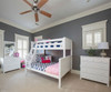 Jackpot 3 Drawer Dresser White | Jackpot Kids Furniture | JACKPOT-714030-002