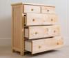 Jackpot 5 Drawer Dresser Natural | 25296 | JACKPOT-714123-001
