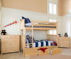 Jackpot 5 Drawer Dresser Natural | Jackpot Kids Furniture | JACKPOT-714123-001