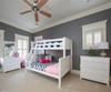 Jackpot 5 Drawer Dresser White | Jackpot Kids Furniture | JACKPOT-714123-002