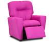 Kidz World Recliner Designer Fabric Pink Suede   Kidz World   KW1300-PS