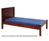 Maxtrix Twin Size Bed with Foot Panel White 1 | Maxtrix Furniture | MX-1150-WP