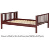 Maxtrix Full Size Bed Chestnut 1 | 25977 | MX-2000-CP