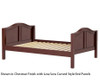 Maxtrix Full Size Bed Chestnut 2 | 25978 | MX-2000-CS