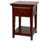 Maxtrix 1 Drawer Nightstand White   Maxtrix Furniture   MX-4210-W