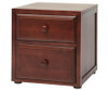 Maxtrix 2 Drawer Nightstand Natural | 26073 | MX-4220-N
