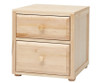 Maxtrix 2 Drawer Nightstand White | Maxtrix Furniture | MX-4220-W