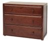 Maxtrix 3 Drawer Dresser Chestnut | Maxtrix Furniture | MX-4230-C