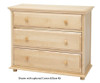 Maxtrix 3 Drawer Dresser Natural | Maxtrix Furniture | MX-4230-N