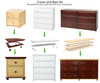 Maxtrix 4 Drawer Dresser Chestnut | Maxtrix Furniture | MX-4240-C