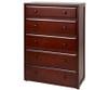 Maxtrix 5 Drawer Dresser Chestnut | Maxtrix Furniture | MX-4250-C