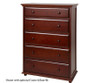Maxtrix 5 Drawer Dresser Natural | Maxtrix Furniture | MX-4250-N