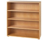 Maxtrix 4 Shelf Bookcase Chestnut | 26107 | MX-4740-C