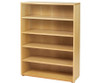 Maxtrix 5 Shelf Bookcase Chestnut | 26110 | MX-4750-C