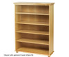 Maxtrix 5 Shelf Bookcase Chestnut | Maxtrix Furniture | MX-4750-C