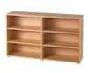 Maxtrix 6 Shelf Bookcase Chestnut | 26113 | MX-4760-C