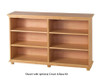 Maxtrix 6 Shelf Bookcase White | Maxtrix Furniture | MX-4760-W