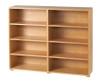 Maxtrix 8 Shelf Bookcase Natural | Maxtrix Furniture | MX-4780-N