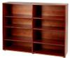 Maxtrix 8 Shelf Bookcase Natural | 26117 | MX-4780-N