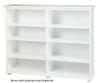Maxtrix 8 Shelf Bookcase White   Maxtrix Furniture   MX-4780-W