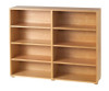 Maxtrix 8 Shelf Bookcase White | Maxtrix Furniture | MX-4780-W