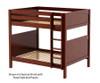 Maxtrix BUFF High Bunk Bed Full Size White   Maxtrix Furniture   MX-BUFF-WX