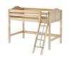 Maxtrix CHAP Mid Loft Bed Twin Size Natural | Maxtrix Furniture | MX-CHAP-NX