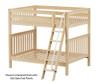 Maxtrix CHUFF High Bunk Bed Full Size Natural | 26201 | MX-CHUFF-NX