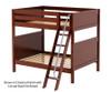 Maxtrix CHUFF High Bunk Bed Full Size Natural   Maxtrix Furniture   MX-CHUFF-NX