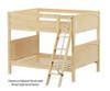 Maxtrix FAT Medium Bunk Bed Full Size Chestnut | Maxtrix Furniture | MX-FAT-CX
